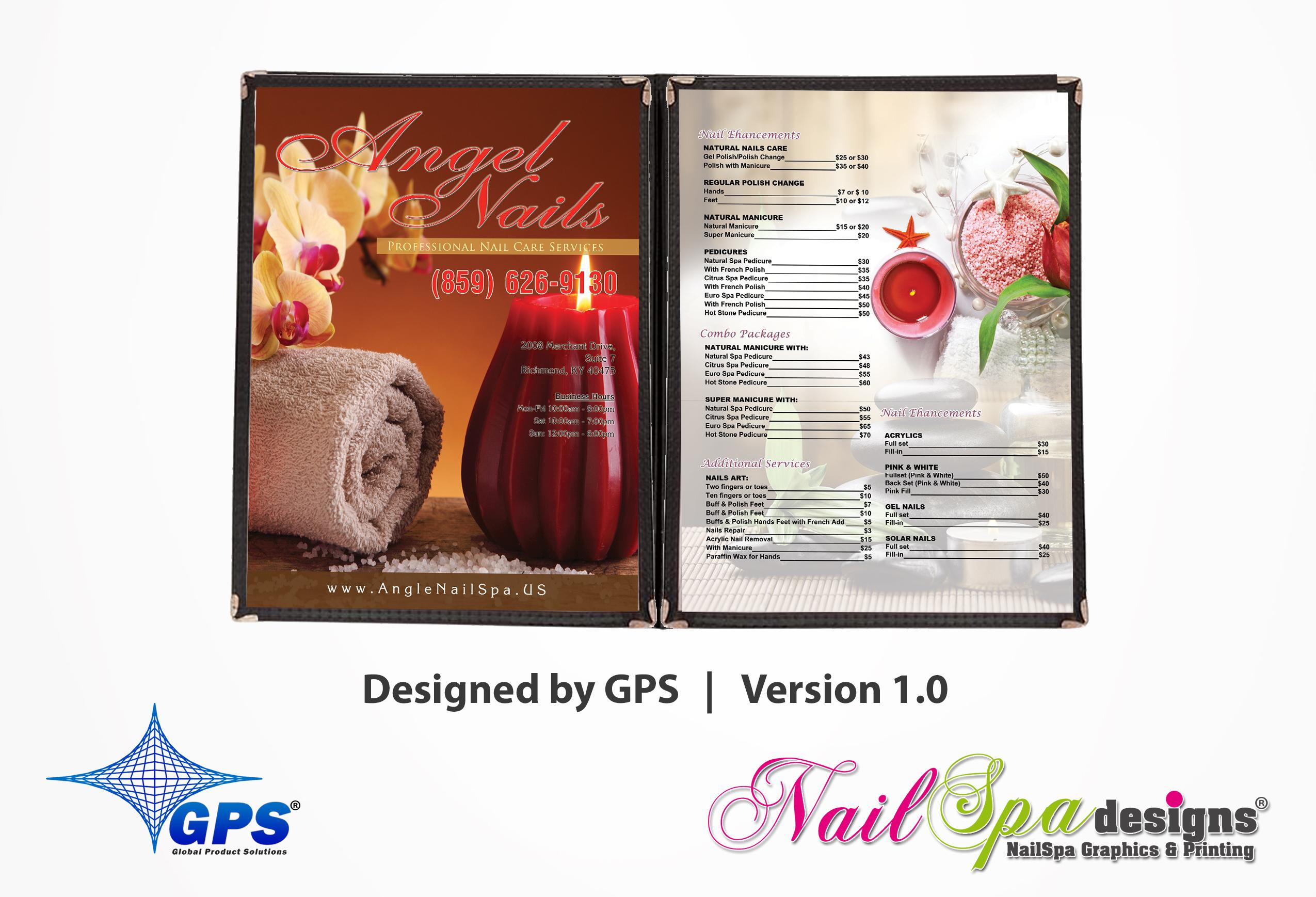 NailSpaDesigns – Nail Spa Printing