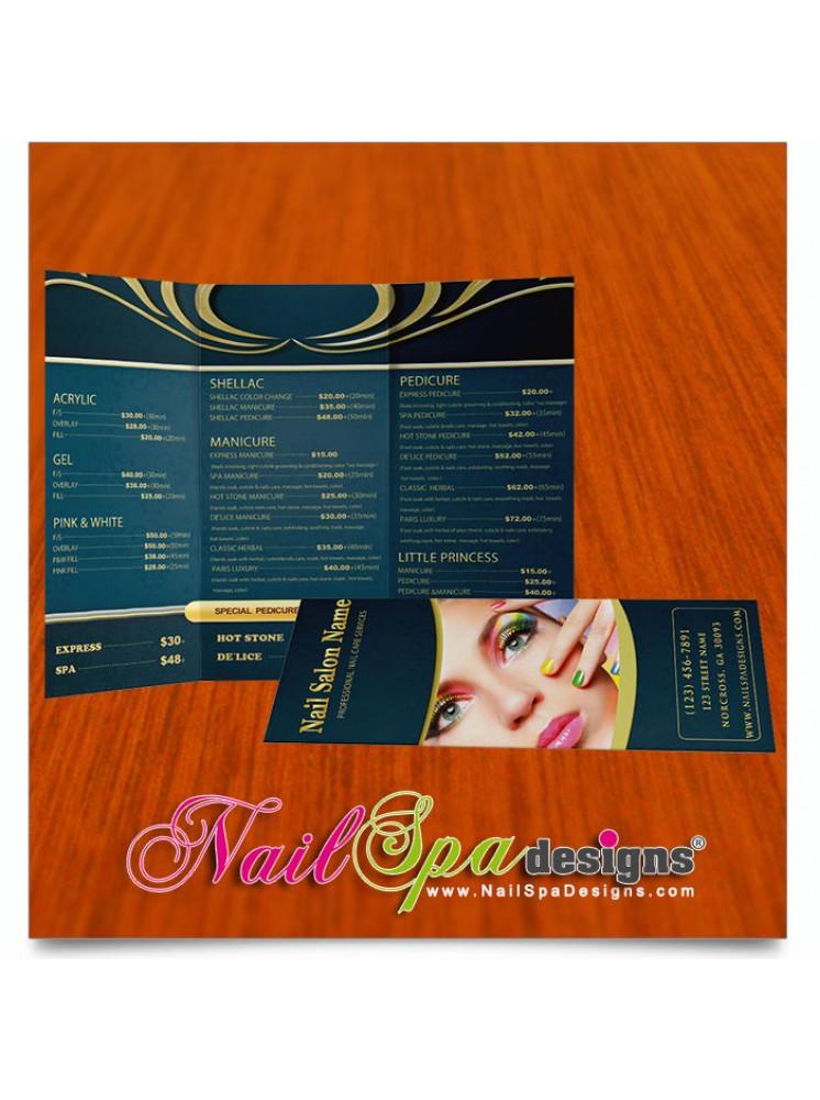 Nail Spa Brochure