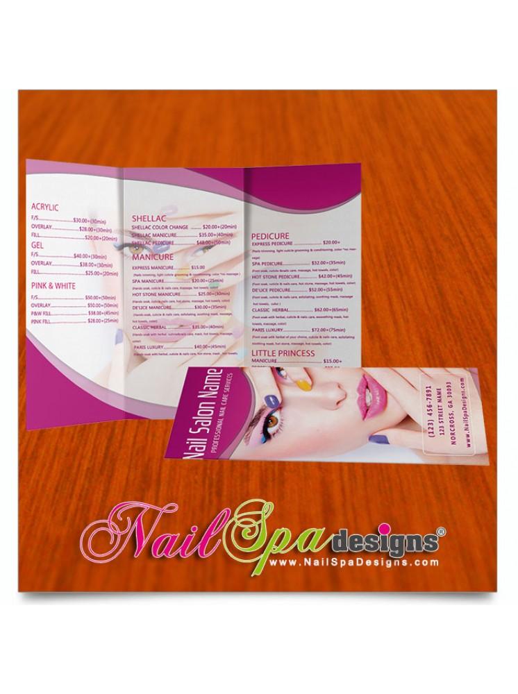 Nail Spa Brochure #157