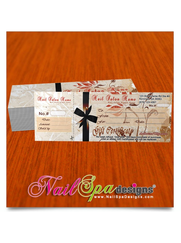 Nail Gift Certificate #027